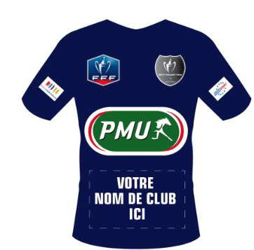 coupe de france le pmu va offrir un maillot g ant certains clubs amateurs petits poucets. Black Bedroom Furniture Sets. Home Design Ideas