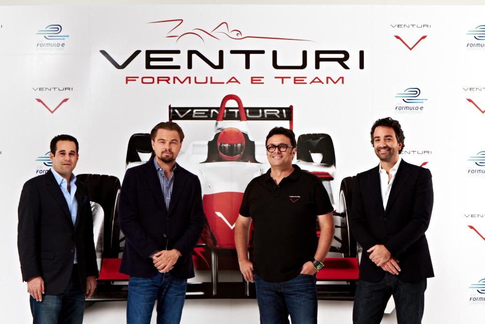 Venturi Grand Prix Formula E léonardo dicaprio FIA