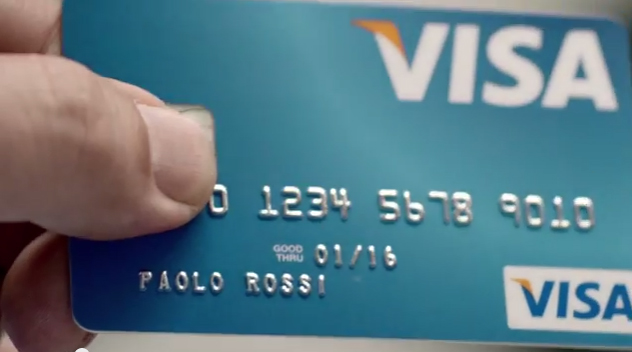 paolo rossi VISA coupe du monde 2014 brésil publicité