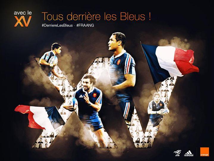 xv de france fans photo maillot  derrière les bleus #derrierelesbleus